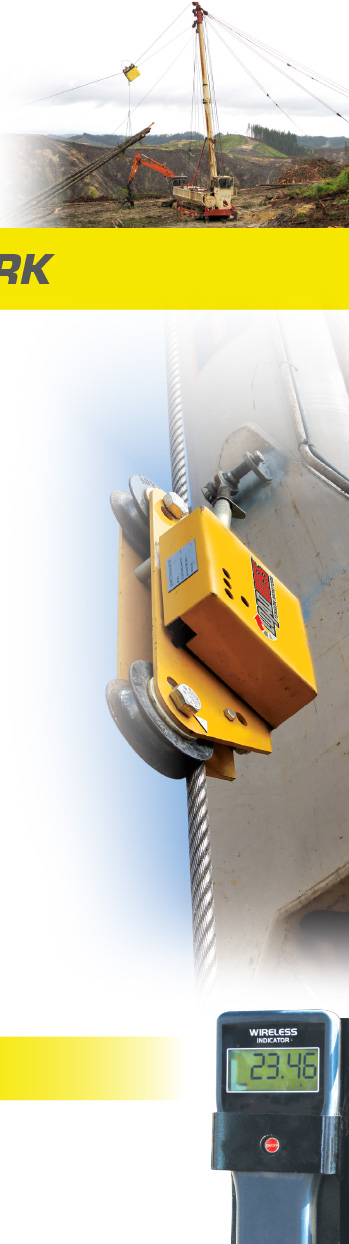 Loadboss Tension Monitors available at Shaw's Wire Ropes