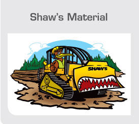 Shaw's Material