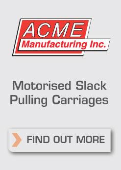 Acme Motorised Slack Pulling Carriages